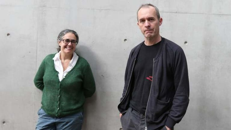 Different world: Visual artist Tacita Dean and actor Stephen Dillane.