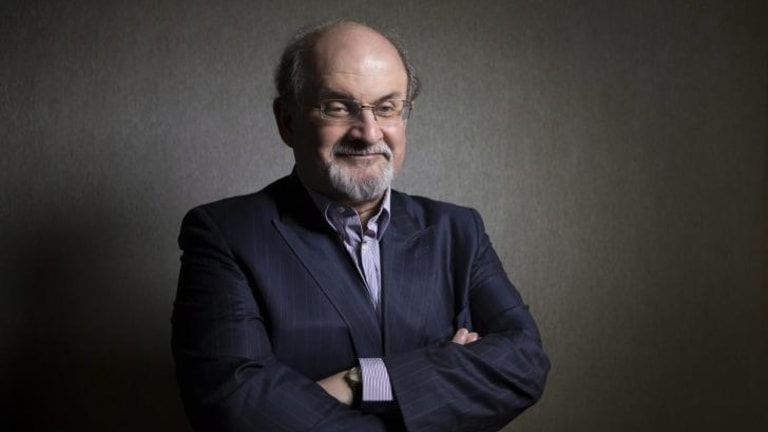 Don't shoot: Salman Rushdie lived under a fatwa for a number of years.