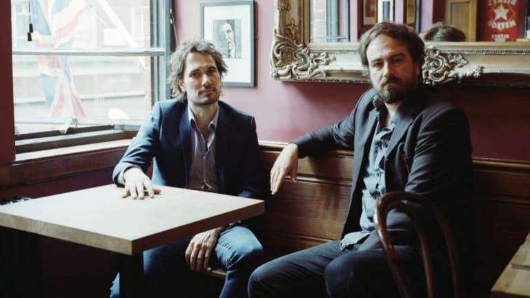 Jed (left) and Justin Kurzel, are in Cannes for the premiere of Justin's <i>Macbeth</i>, which is in contention for the Palme d'Or.