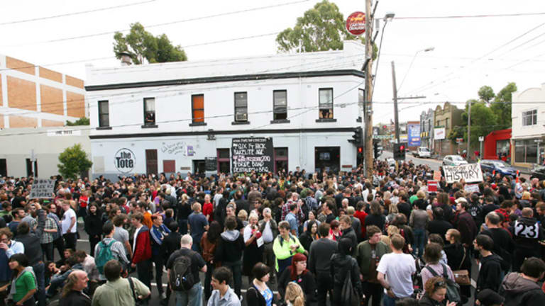 The closing of the Tote Hotel feels like losing a home.