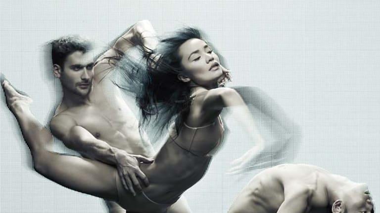 Lyrical movement ... Sydney Dance Company's Wayne Parsons, Charmene Yap and Chen Wen.