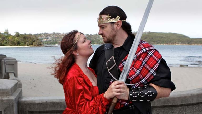 Bard to the bone … Patricia Cotter and Kyle Rowling are building on the legacy of the popular Shakespeare by the Sea with a revamped season at Balmoral Beach.