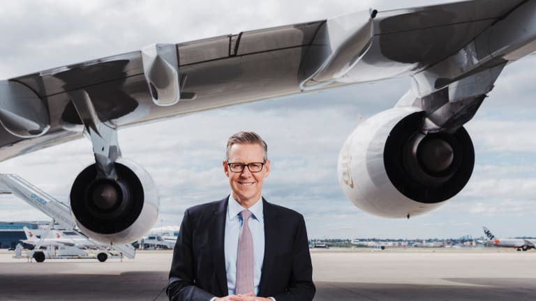 Sydney Airport CEO Geoff Culbert wants better rail links to the CBD.