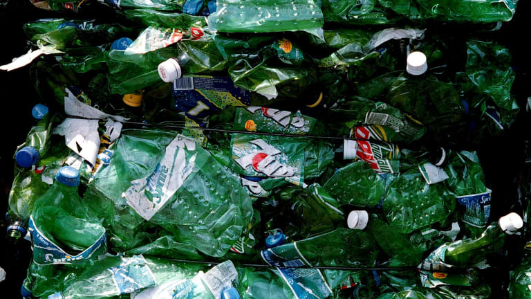 """""""About 300 million tonnes of plastic is produced globally each year, and only roughly 10 per cent gets recycled."""": Australian entrepreneur Priyanka Bakaya."""