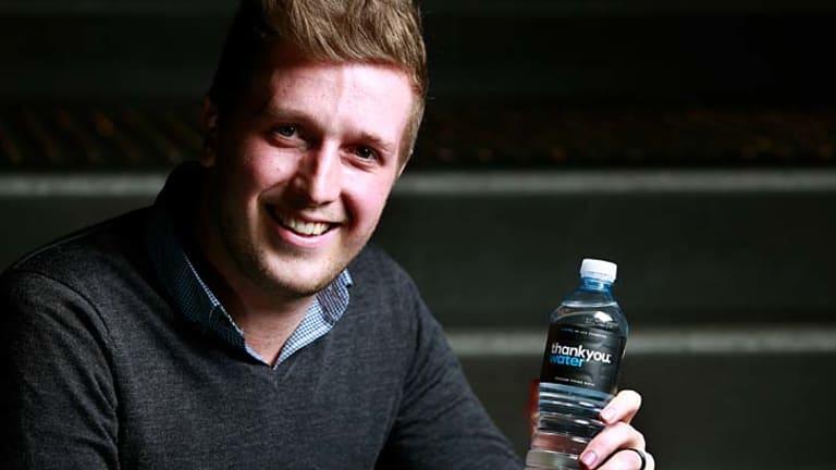 Thankyou Water co-founder Daniel Flynn.