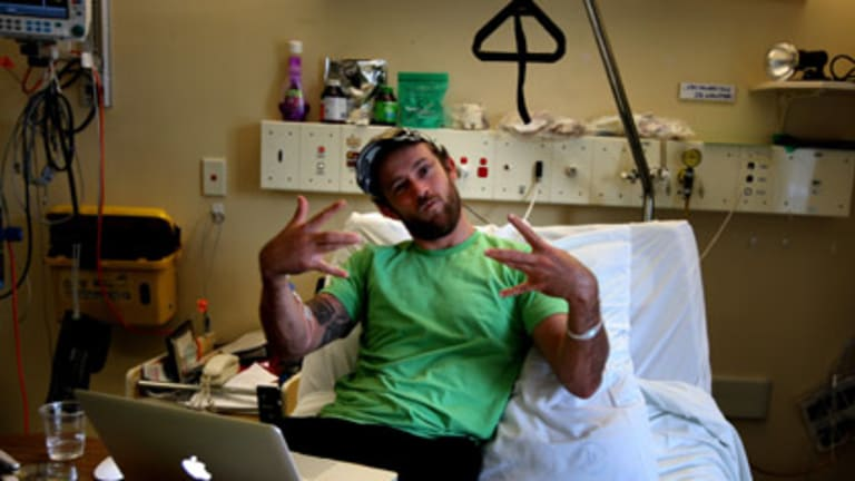 Fully Sick Rapper... Christiaan Van Vuuren has turned his multi-drug-resistant tuberculosis into an online phenomenon with his videos.