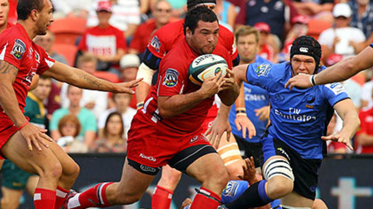 Queensland Reds prop Laurie Weeks will join the fledgling Melbourne Rebels next season.