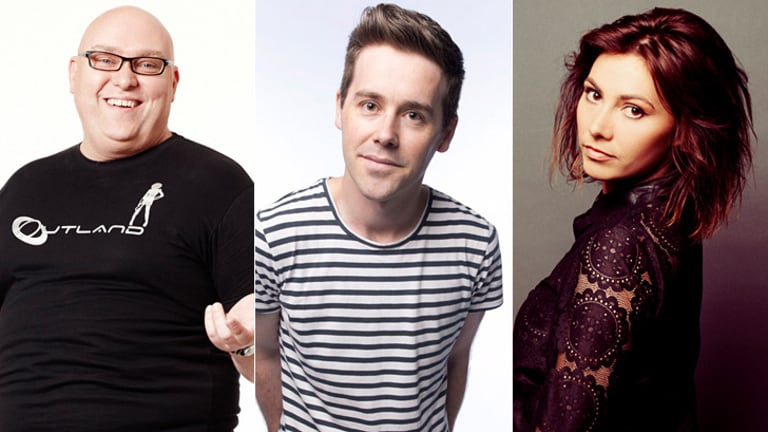 The new <i>Spicks and Specks</i> team? Adam Richard, Josh Earl and Ella Hooper.