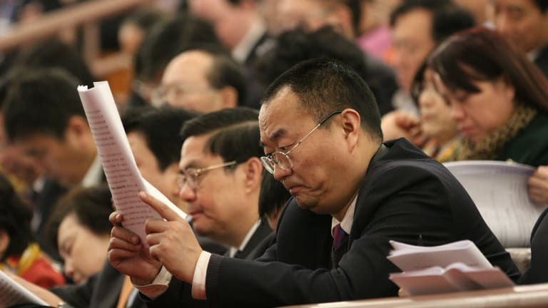 As Chinese President Xi Jinping has pointed out, most young people get their information about the government online, not by reading work reports of the National People's Congress.