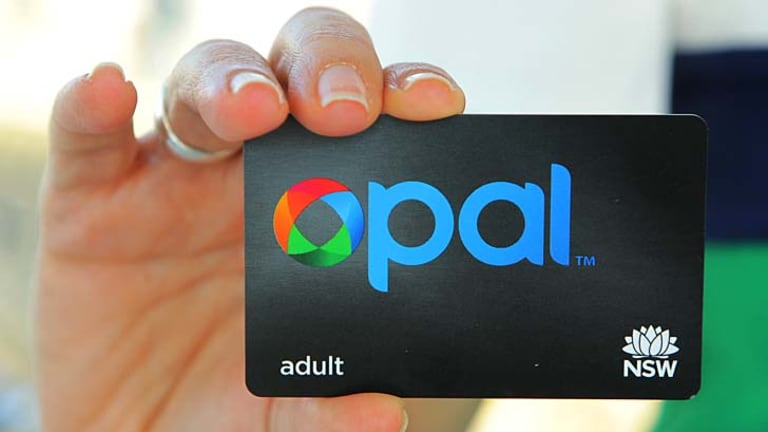Starting on December 7 … the Opal card.