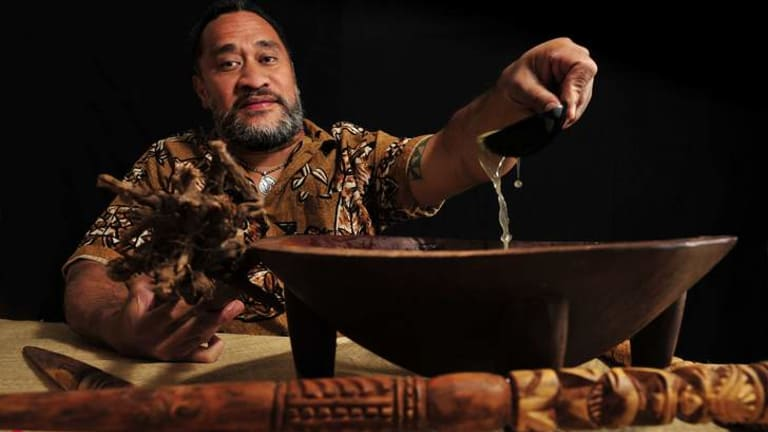 Pacific Islanders, such as Siosiua Lafitani Tofua'ipangai,   will be allowed to drink kava at  the Multicultural Festival from now on.