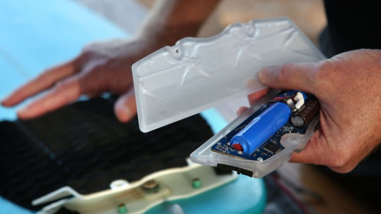 The Shark Shield's technology and patents have a twenty-year development history.