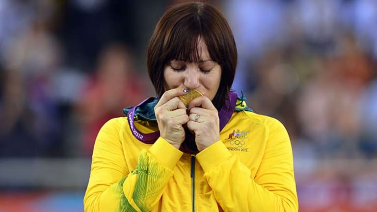 Golden glow ... A statistical breakthrough shows Australia was the real winner of the London Olympics.