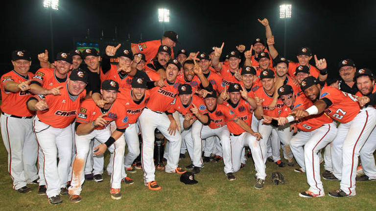Canberra Cavalry 2013 Asia Series Champions.