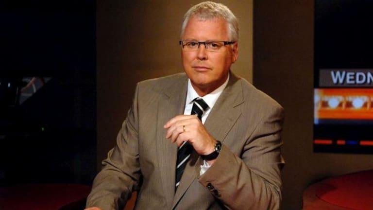 Tony Jones: The <i>Lateline</i> co-host plays a key role in setting the political agenda.