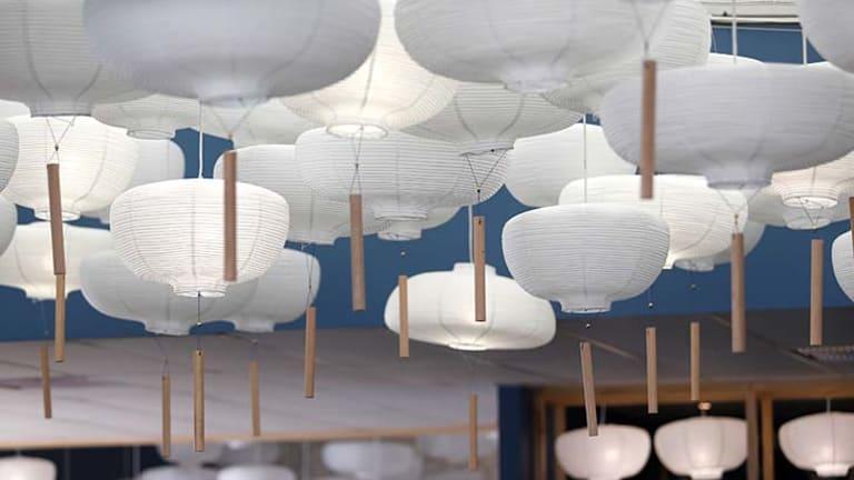 Lanterns also feature.