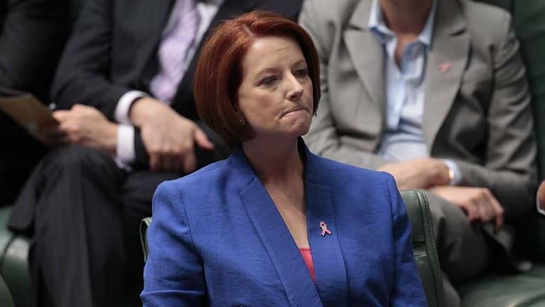 Julia Gillard ... lost a great deal.