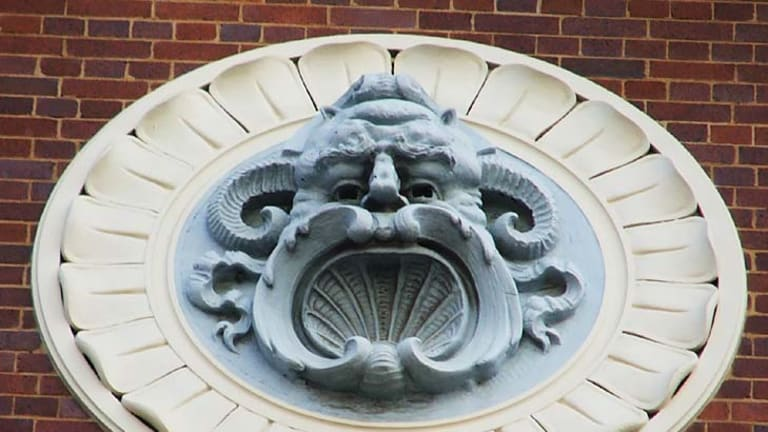 The grotesque from the Regent Theatre.