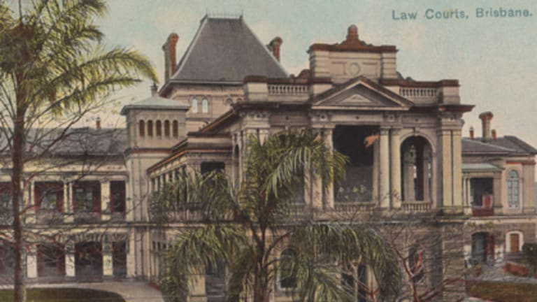 The old Brisbane law courts.