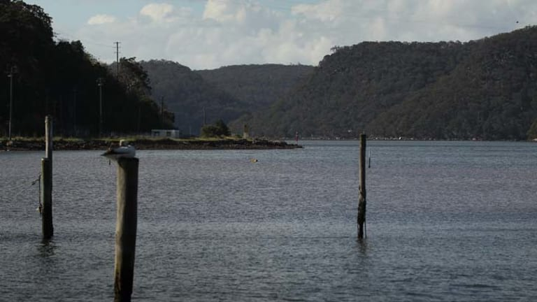 Dumping ground ... the Hawkesbury river.