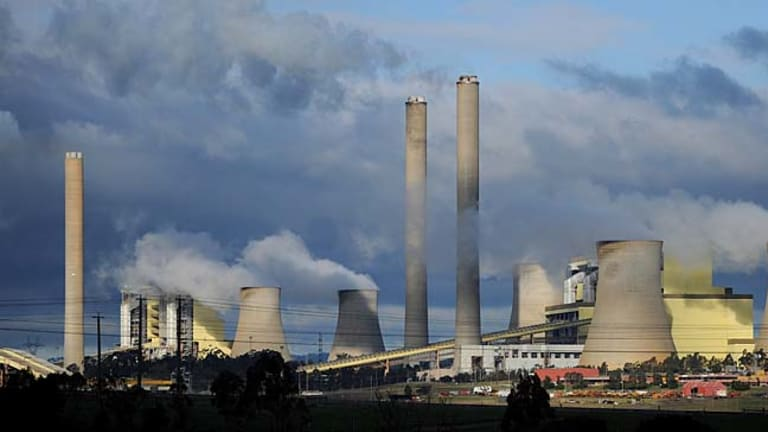 Power stations such as Loy Yang are facing write-downs.