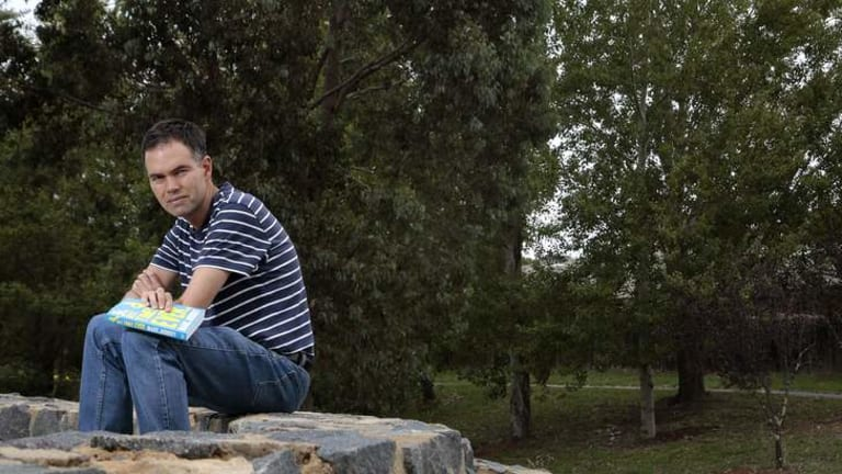 Canberra's Mark Juddery wrote a book after he was diagnosed with cancer.