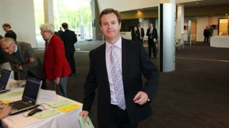 Former editor of <I>The West Australian</i> newspaper Paul Armstrong.