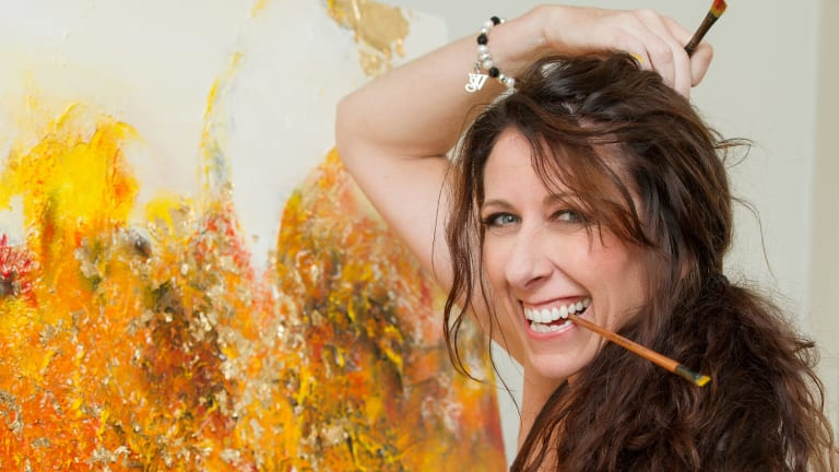 Tracie Eaton encourages everyone to unleash their inner artist.