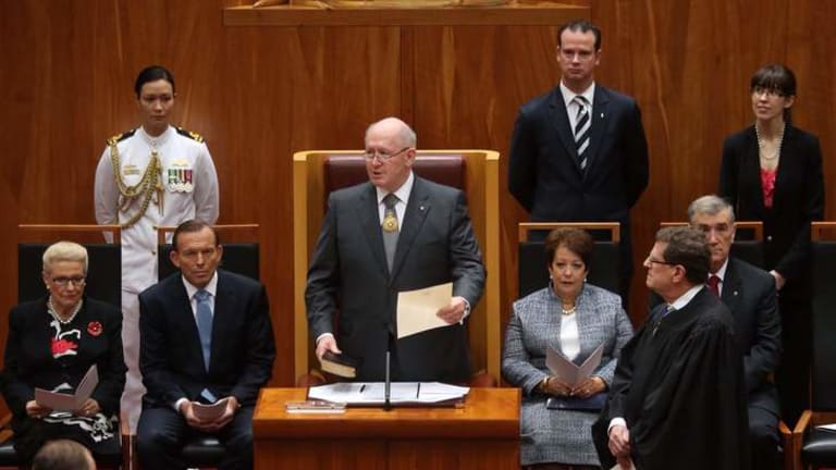 New Governor-General Sir Peter Cosgrove.
