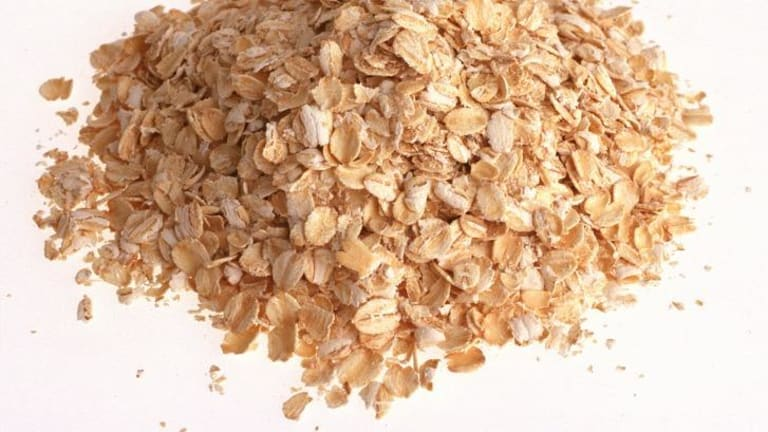 """""""Healthy"""" breakfast cereals often contain unnecessary sugar. Look for rolled oats (above) in the health food aisle and make your own cereal instead."""