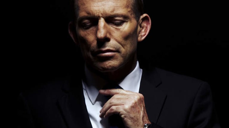 Getting ready ... Opposition Leader Tony Abbott, who is likely to be Australia's next prime minister.