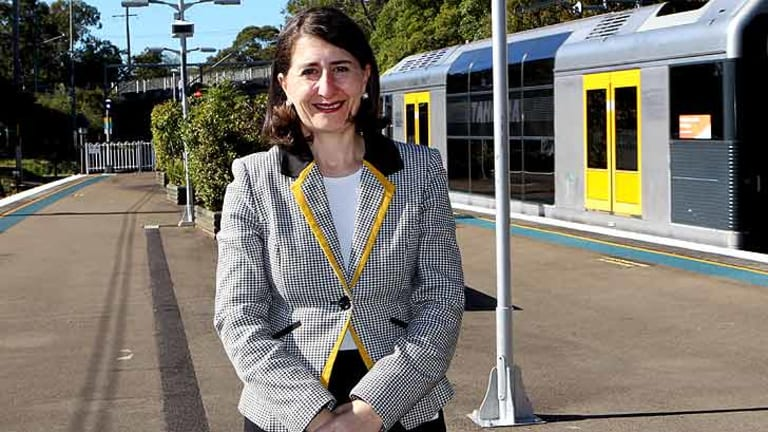 In the firing line: Transport Minister Gladys Berejiklian's new fare policies under the Opal smartcard have raised concerns from the opposition.
