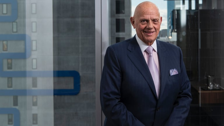 Solomon Lew says the Myer board must step down.