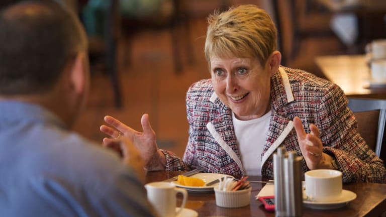 Priorities: Mem Fox says her sister's illness and caring for her grandson outweigh anything else in her life. ''If I never wrote again, I wouldn't care.''