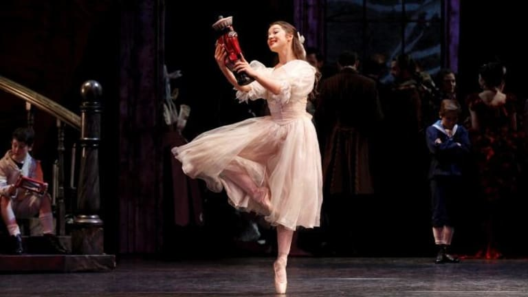 Pointe perfect: Benedicte Bemet brings a refreshing touch to the role of Clara.