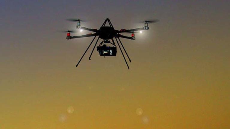 Operations under investigation ... drones.