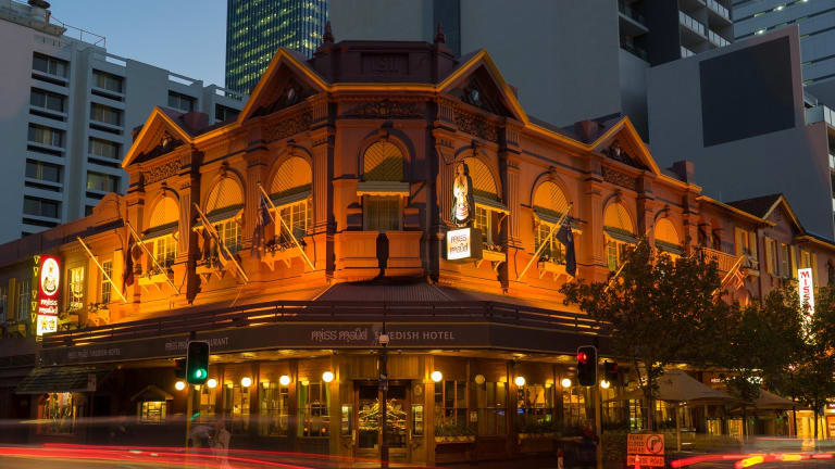 The Miss Maud Hotel in Perth's Murray Street.