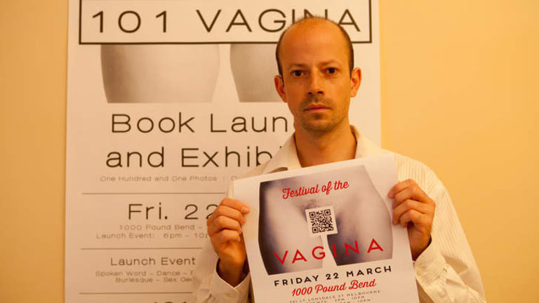 Philip Werner has photographed 101 vaginas for a coffee-table book.