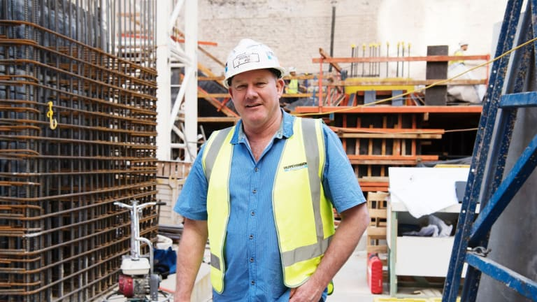 Andrew Gulliford is a site manager at Hutchinson.