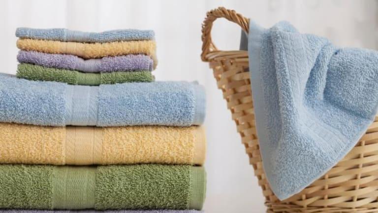 Keep those towels clean.