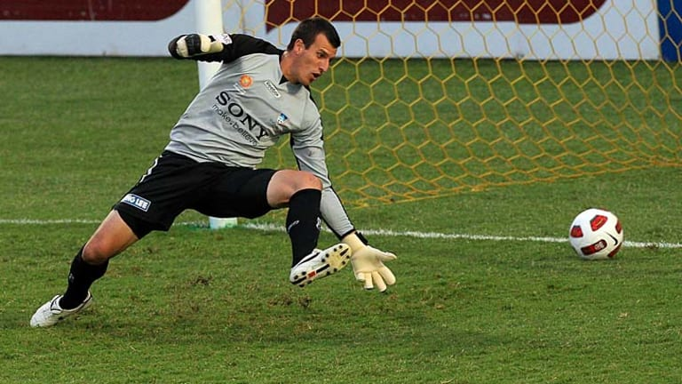 First choice ... Sydney goalkeeper Ivan Necevski.