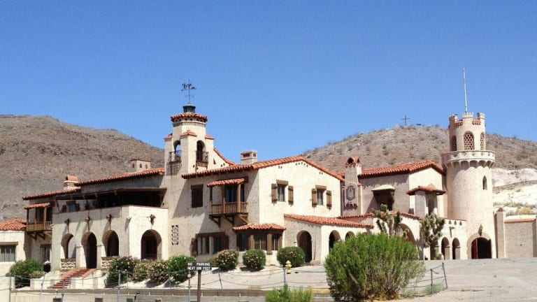 Death Valley Ranch: Originally built for Albert and Bessie Johnson, the grand holiday home became known as Scotty's Castle.