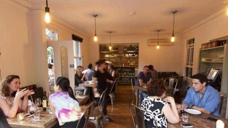 At home: Sagra in Darlinghurst is ''like eating in someone's front room''.
