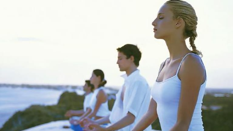 Meditate on health ... deep relaxation is as good for you as it feels.