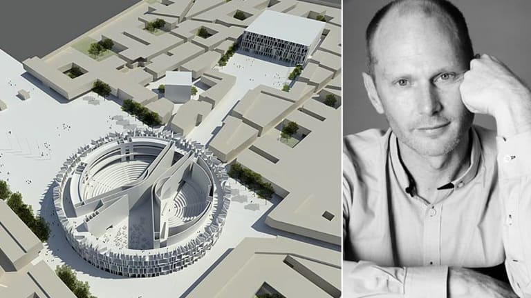 Brisbane's Peter Besley heads up London-based architecture firm Assemblage, which has designed the new Iraqi parliament.