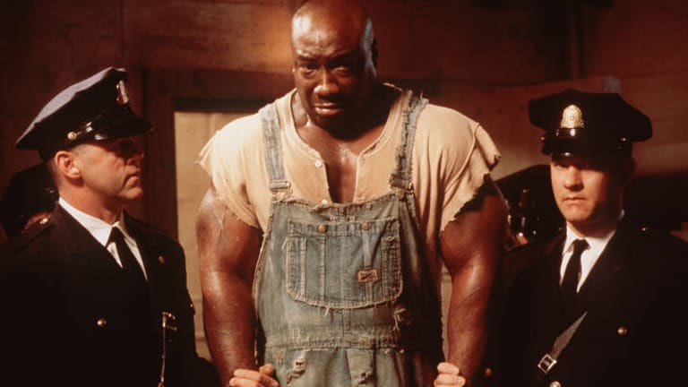 Michael Clarke Duncan ... starring in the Green Mile.