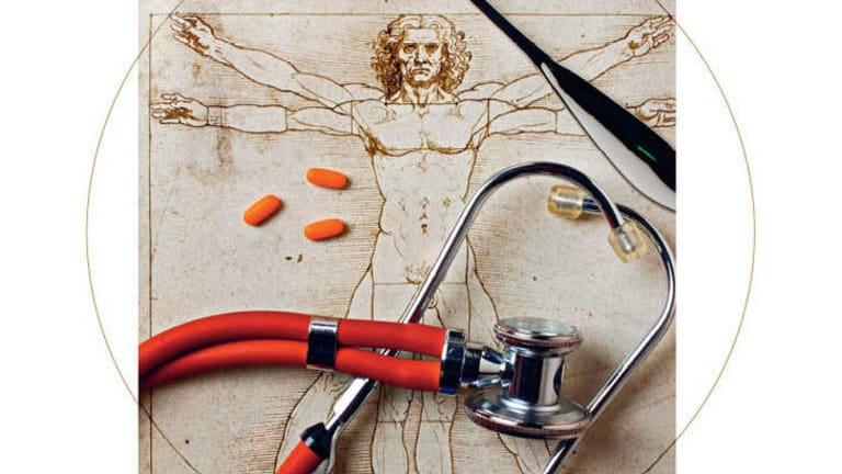 Grand claims … Universal Medicine founder Serge Benhayon has said he is the reincarnation of Leonardo da Vinci.