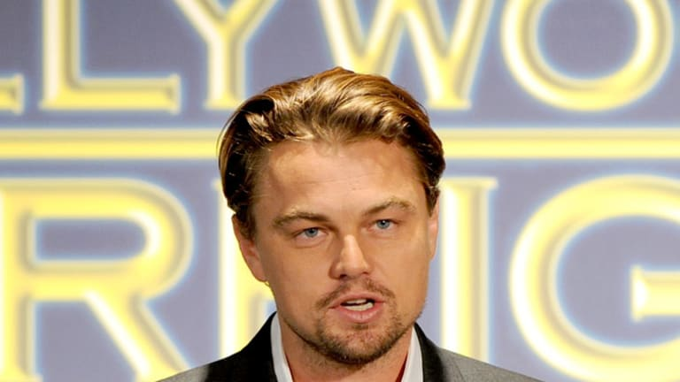 Whirlwind romance ... Leonardo DiCaprio.