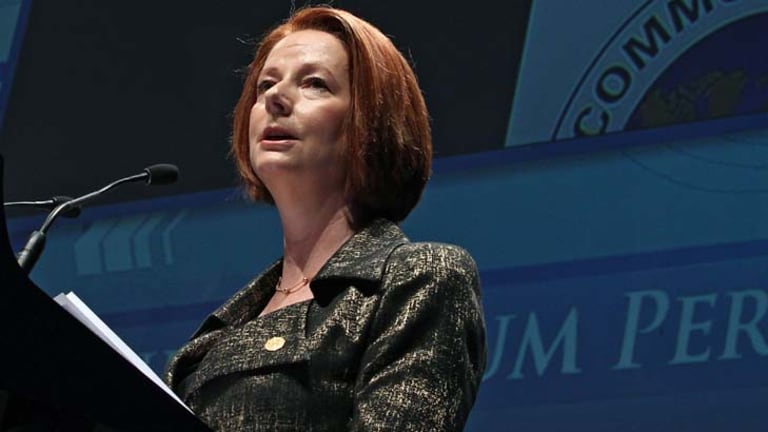 """Australia is prepared to keep leading the way in opening doors for developing nations"" ... Prime Minister Julia Gillard."