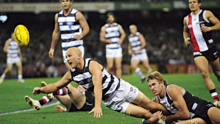 The Cats beat St.Kilda in last year's premiership, Geelong's second in three years.